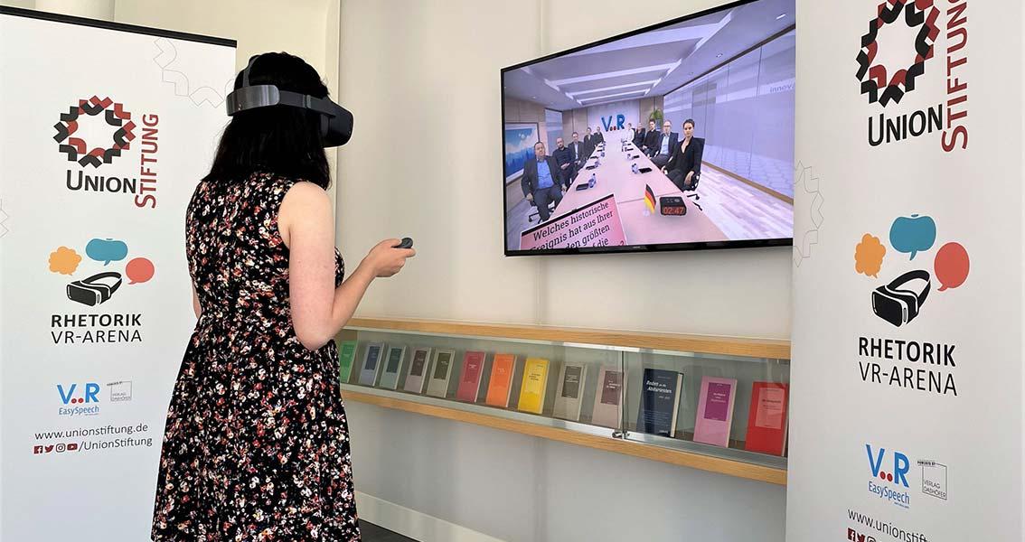 Besuchen Sie unsere VR-Arena